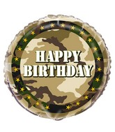 SOLD OUT Camo Birthday
