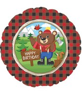 #10 Lumber Jack Happy Birthday