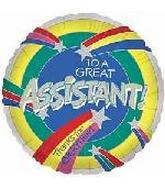 To a Great Assistant
